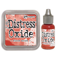 Ranger Ink - Tim Holtz - Distress Oxides Ink Pad and Reinker - Fired Brick