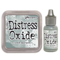 Ranger Ink - Tim Holtz - Distress Oxides Ink Pad and Reinker - Iced Spruce