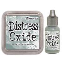 Ranger Ink - Tim Holtz - Distress Oxides Ink Pad and Reinker - Iced Spruce