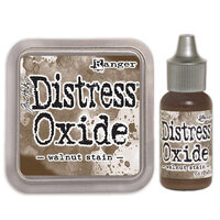 Ranger Ink - Tim Holtz - Distress Oxides Ink Pad and Reinker - Walnut Stain