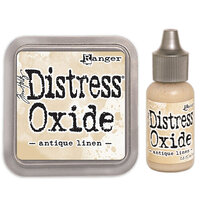 Ranger Ink - Tim Holtz - Distress Oxides Ink Pad and Reinker - Antique Linen