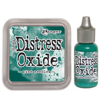 Ranger Ink - Tim Holtz - Distress Oxides Ink Pad and Reinker - Pine Needles