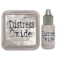 Ranger Ink - Tim Holtz - Distress Oxides Ink Pad and Reinker - Pumice Stone