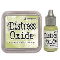 Ranger Ink - Tim Holtz - Distress Oxides Ink Pad and Reinker - Shabby Shutters