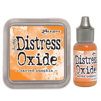 Ranger Ink - Tim Holtz - Distress Oxides Ink Pad and Reinker - Carved Pumpkin