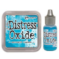 Ranger Ink - Tim Holtz - Distress Oxides Ink Pad and Reinker - Mermaid Lagoon