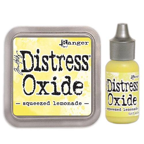 Ranger Ink - Tim Holtz - Distress Oxides Ink Pad and Reinker - Squeezed Lemonade