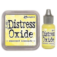 Ranger Ink - Tim Holtz - Distress Oxides Ink Pad and Reinker - Squeezed Lemonade