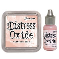 Ranger Ink - Tim Holtz - Distress Oxides Ink Pad and Reinker - Tattered Rose