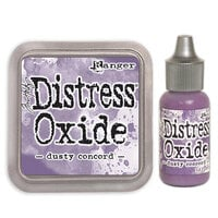 Ranger Ink - Tim Holtz - Distress Oxides Ink Pad and Reinker - Dusty Concord