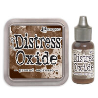 Ranger Ink - Tim Holtz - Distress Oxides Ink Pad and Reinker - Ground Espresso