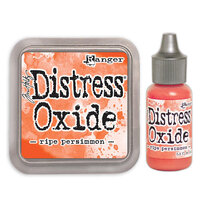 Ranger Ink - Tim Holtz - Distress Oxides Ink Pad and Reinker - Ripe Persimmon