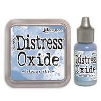Ranger Ink - Tim Holtz - Distress Oxides Ink Pad and Reinker - Stormy Sky