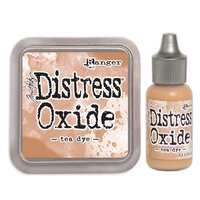 Ranger Ink - Tim Holtz - Distress Oxides Ink Pad and Reinker - Tea Dye