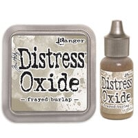 Ranger Ink - Tim Holtz - Distress Oxides Ink Pad and Reinker - Frayed Burlap