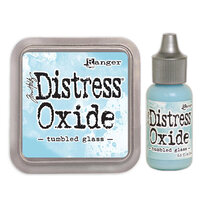Ranger Ink - Tim Holtz - Distress Oxides Ink Pad and Reinker - Tumbled Glass