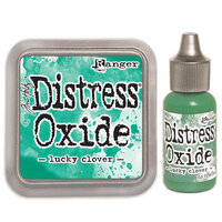 Ranger Ink - Tim Holtz - Distress Oxides Ink Pad and Reinker - Lucky Clover