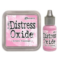 Ranger Ink - Tim Holtz - Distress Oxides Ink Pad and Reinker - Kitsch Flamingo