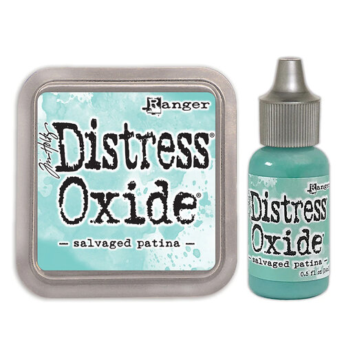 Ranger Ink - Tim Holtz - Distress Oxides Ink Pad and Reinker - Salvaged Patina