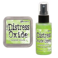 Ranger Ink - Tim Holtz - Distress Oxides Ink Pad and Spray - Twisted Citron