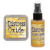 Ranger Ink - Tim Holtz - Distress Oxides Ink Pad and Spray - Fossilized Amber
