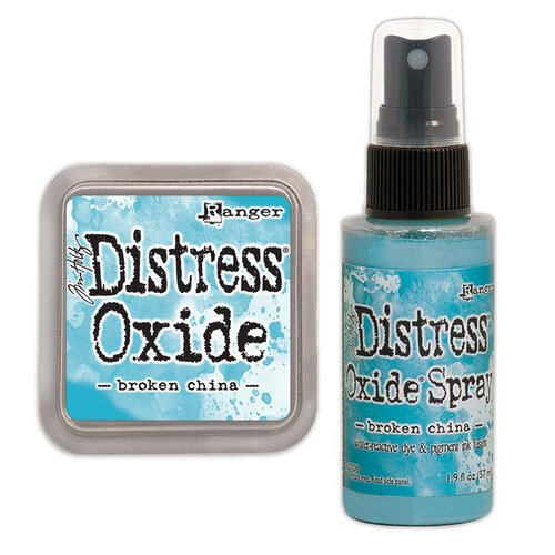 Ranger Ink - Tim Holtz - Distress Oxides Ink Pad and Spray - Broken China