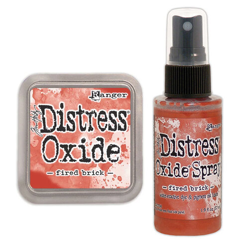 Ranger Ink - Tim Holtz - Distress Oxides Ink Pad and Spray - Fired Brick