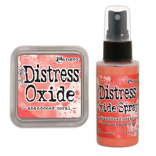 Ranger Ink - Tim Holtz - Distress Oxides Ink Pad and Spray - Abandoned Coral