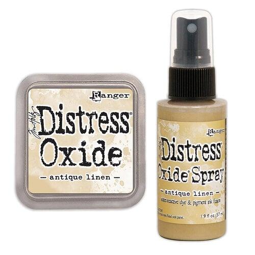 Ranger Ink - Tim Holtz - Distress Oxides Ink Pad and Spray - Antique Linen