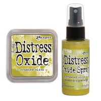 Ranger Ink - Tim Holtz - Distress Oxides Ink Pad and Spray - Crushed Olive