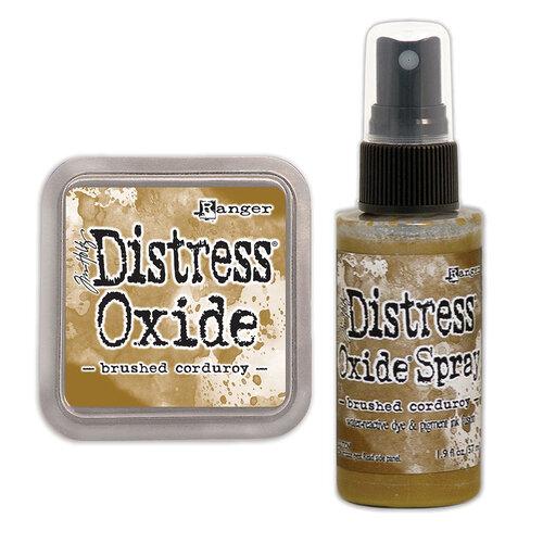 Ranger Ink - Tim Holtz - Distress Oxides Ink Pad and Spray - Brushed Corduroy