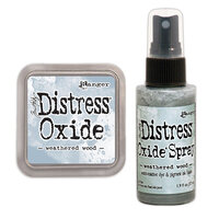 Ranger Ink - Tim Holtz - Distress Oxides Ink Pad and Spray - Weathered Wood