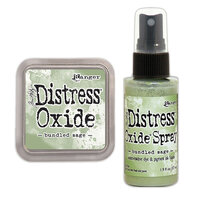 Ranger Ink - Tim Holtz - Distress Oxides Ink Pad and Spray - Bundled Sage