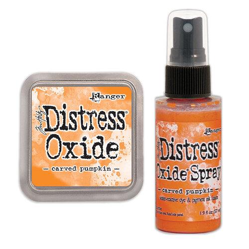 Ranger Ink - Tim Holtz - Distress Oxides Ink Pad and Spray - Carved Pumpkin