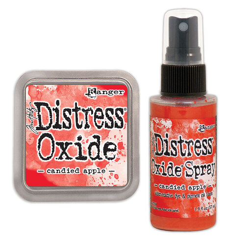 Ranger Ink - Tim Holtz - Distress Oxides Ink Pad and Spray - Candied Apple