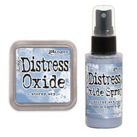Ranger Ink - Tim Holtz - Distress Oxides Ink Pad and Spray - Stormy Sky
