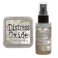 Ranger Ink - Tim Holtz - Distress Oxides Ink Pad and Spray - Frayed Burlap
