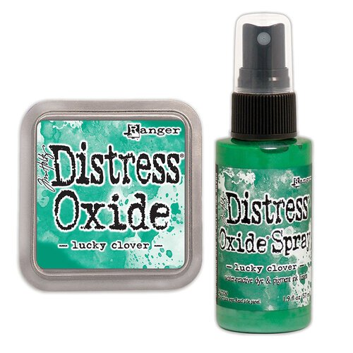 Ranger Ink - Tim Holtz - Distress Oxides Ink Pad and Spray - Lucky Clover