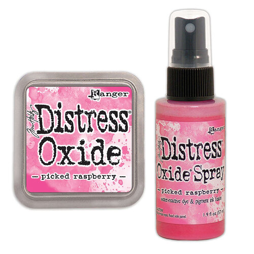 Ranger Ink - Tim Holtz - Distress Oxides Ink Pad and Spray - Picked Raspberry