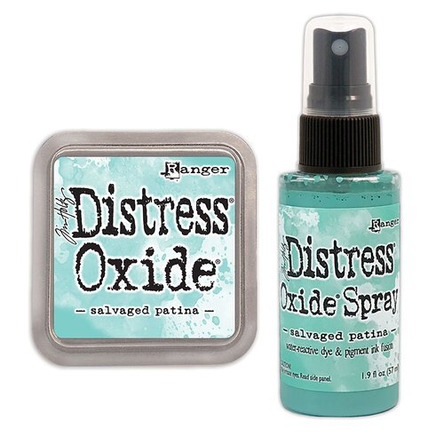 Ranger Ink - Tim Holtz - Distress Oxides Ink Pad and Spray - Salvaged Patina