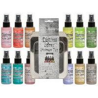 Ranger Ink - Tim Holtz - Distress Oxides Spray Kit - Bundle Two with Spray Storage Tin