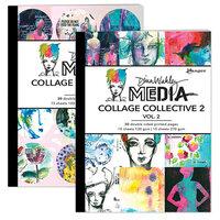 Ranger Ink - Dina Wakley Media - Collage Collective 2 - Vol. 1 and Vol. 2 Bundle