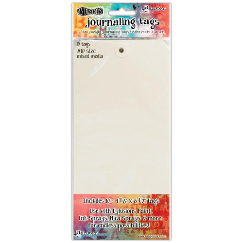 Ranger Ink - Dylusions Media - Journaling Tags - Size Number 10