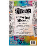 Ranger Ink Dylusions Coloring Sheets 5 x 8