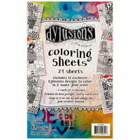 Ranger Ink - Dylusions Coloring Sheets - 5 x 8