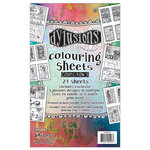 Ranger Ink - Dylusions Coloring Sheets - 5 x 8 - 3