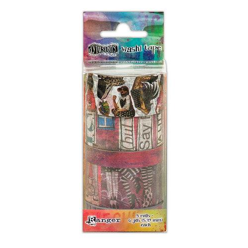 Ranger Ink - Dylusions Washi Tape - Set 1