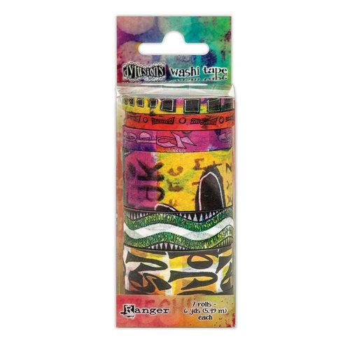 Ranger Ink - Dylusions Washi Tape - Set 6