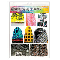 Ranger Ink - Dylusions Collage Sheets - 8.5 x 11 - 24 Sheets - Set 2