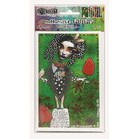 Ranger Ink - Dylusions Adhesive Canvas - Set 3 - 8 Sheets